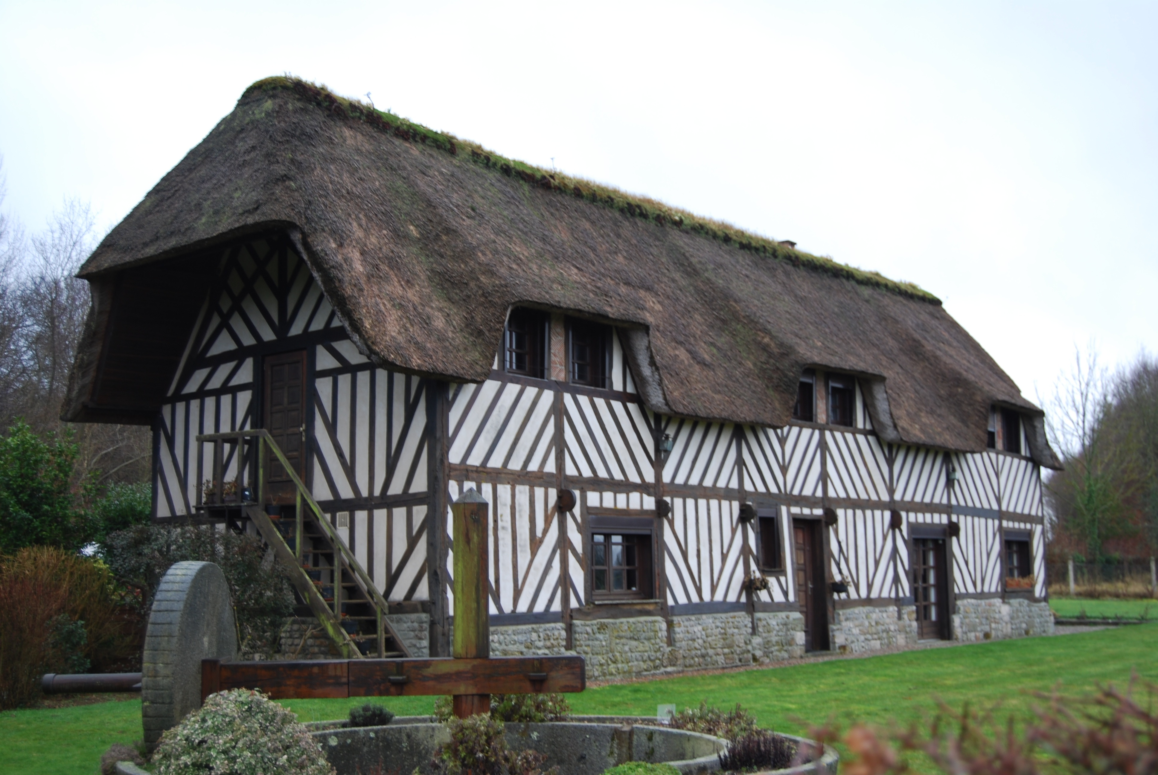 Exemple de maison typique du pays d 39 auge - Maison anglaise typique ...